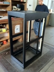 Electronics Rack for KISL