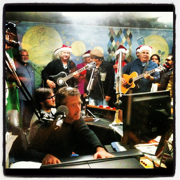 a great Island Radio moment at telethon 2012