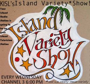 island variety show logo poster